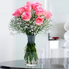 Deluxe Pink Roses