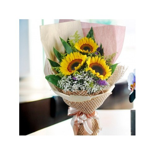Sunflowers Classic Bouquet