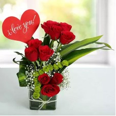 Red Roses Love Arrangement